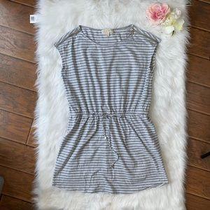 Michael Kors Romper Gray Stripes XL